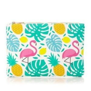 Flamingo Leaf Mini Bag/Pouch